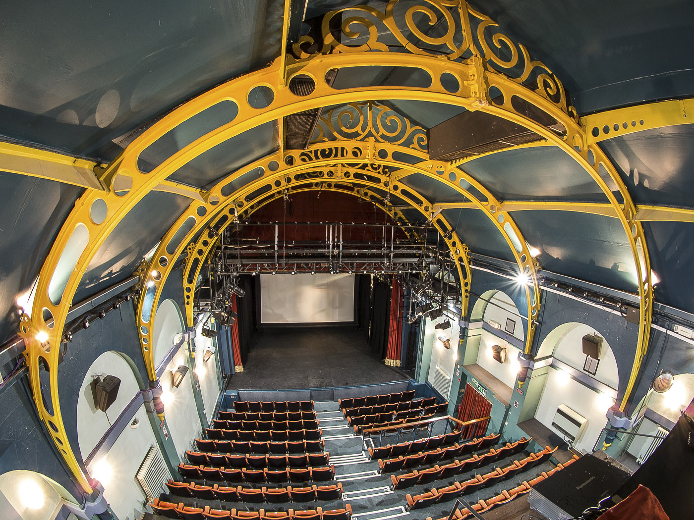 Fish-eye view of the Auditorium