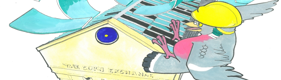 Corn Exchange Cartoon (banner)