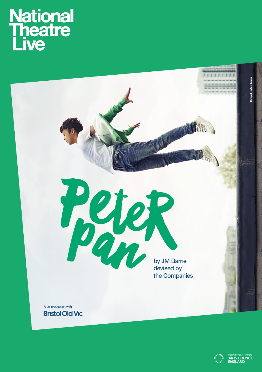 NT Live Peter Pan Listings Image Portrait UK